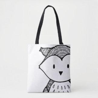 Woodland Black Owl Women's stylish Bag