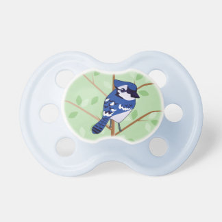 Woodland Blue Jay Pacifier
