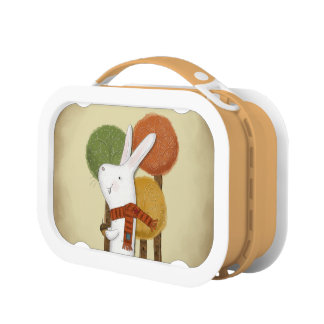 Woodland Bunny with Acorn Lunch Box
