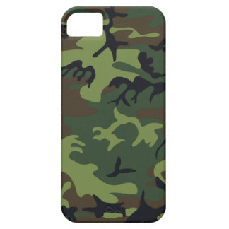 Woodland Camo Case For The iPhone 5