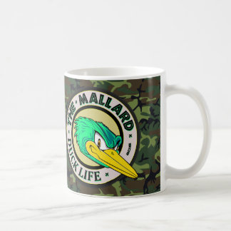 Woodland Camo Duck Life Coffee Mug