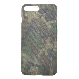 Woodland Camo Fabric iPhone 7 Plus Case