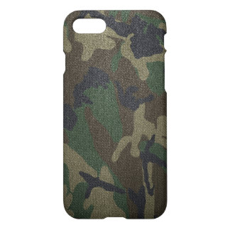 Woodland Camo Fabric iPhone 8/7 Case