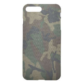 Woodland Camo Fabric iPhone 8 Plus/7 Plus Case