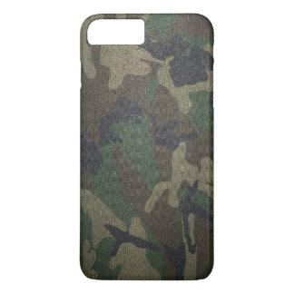 Woodland Camo Fabric iPhone 8 Plus/7 Plus Case