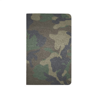 Woodland Camo Fabric Journal