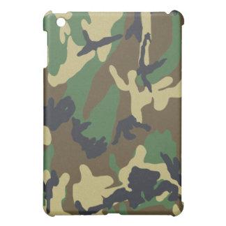 Woodland Camo Hard Shell iPad One Case Cover For The iPad Mini