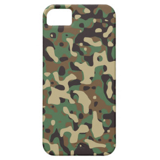 Woodland Camo iPhone 5 Cover