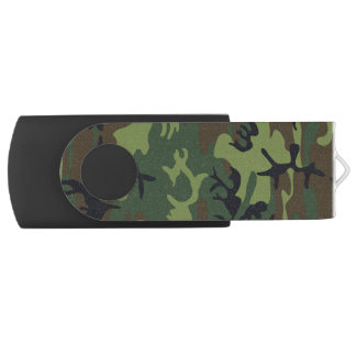 Woodland Camo USB Flash Drive