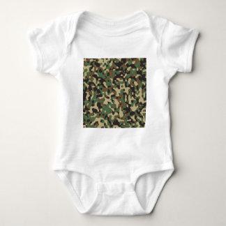 Woodland Camouflage Baby Bodysuit