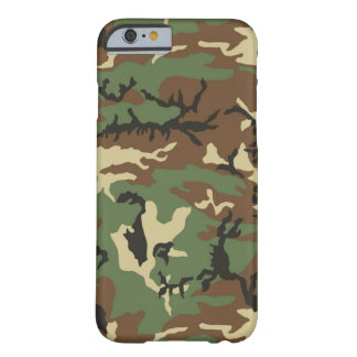 Woodland Camouflage Barely There iPhone 6 Case