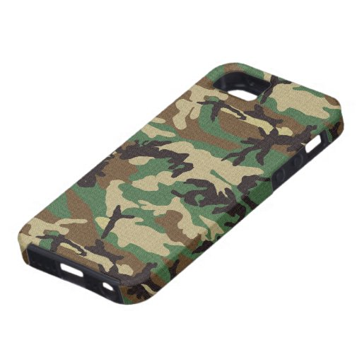 Woodland Camouflage iPhone 5 Cases