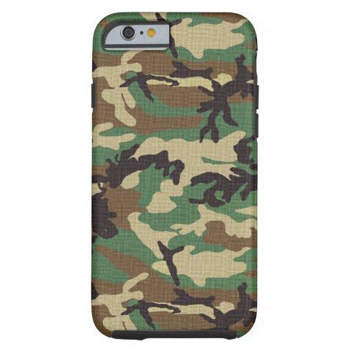 Woodland Camouflage iPhone 6 Case