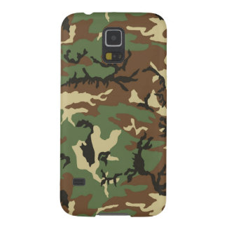 Woodland Camouflage Cases For Galaxy S5