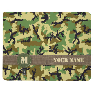 Woodland camouflage journal