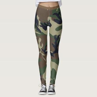 Woodland Camouflage Leggings