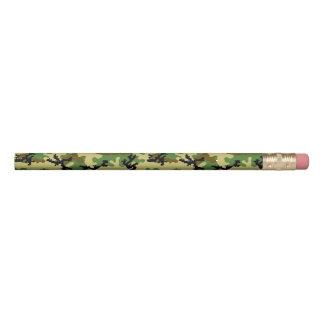 Woodland camouflage pencil
