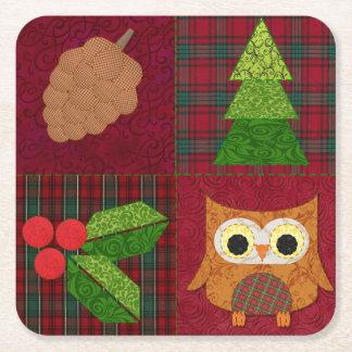 Woodland Christmas Coasters