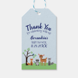 Woodland Creature Favour Tags - Forest Animals