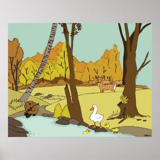 Woodland Creatures2 poster