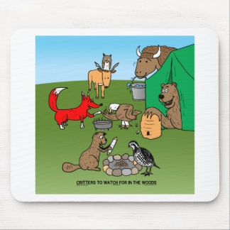 Woodland Critters Mouse Pad