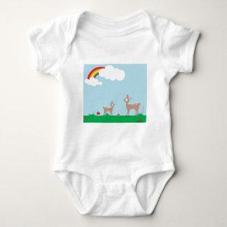 Woodland Deer Baby Bodysuit