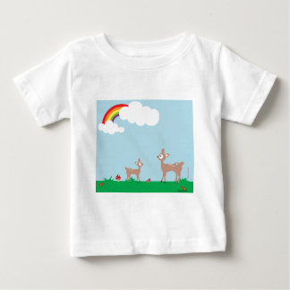 Woodland Deer Baby T-Shirt