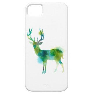 Woodland Deer in delicate Watercolour iPhone 5 Case