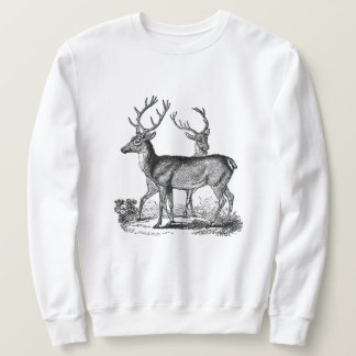 Woodland Deer Men's Classic Sweatshirt