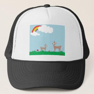 Woodland Deer Trucker Hat