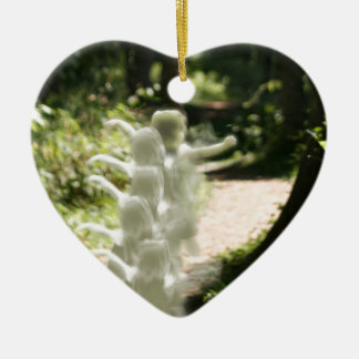 Woodland Fairies Christmas Ornament
