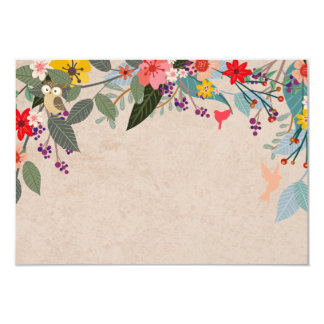 Woodland Fairy Photo Thank You Card 9 Cm X 13 Cm Invitation Card