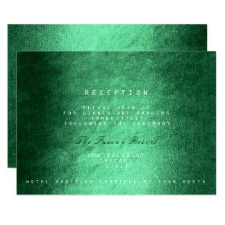 Woodland Fall Autumn Vip Wedding Reception 9 Cm X 13 Cm Invitation Card