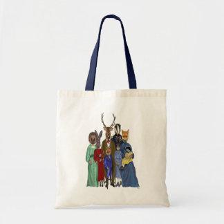 Woodland Family Tote Bag