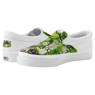 Woodland Floral Slip-On Shoes