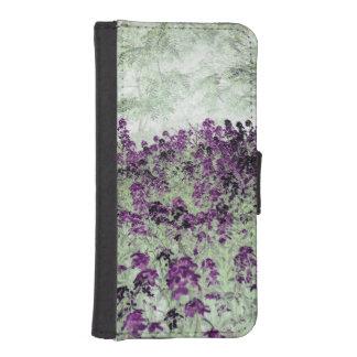 woodland flowers phone wallet case