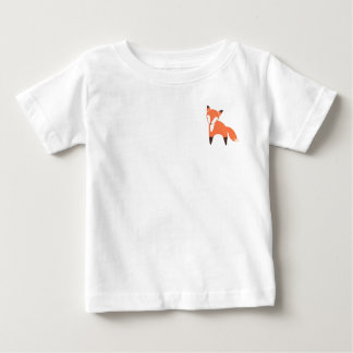 Woodland Fox Baby Fine Jersey T-Shirt