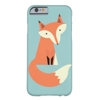 Woodland Fox Barely There iPhone 6 Case
