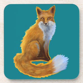 Woodland Fox Coasters