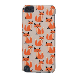 Woodland fox cute retro whimsical hipster foxes iPod touch 5G case