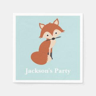 Woodland Fox Disposable Serviettes