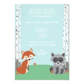 Woodland Friends Card