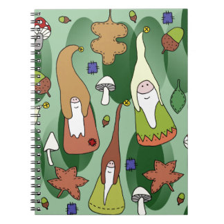 Woodland Gnomes Notebook