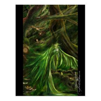 Woodland Green - Postcard