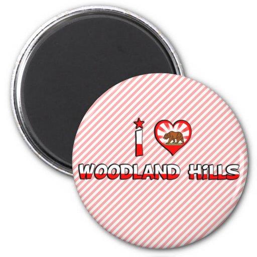 Woodland Hills, CA Magnets