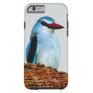 Woodland Kingfisher birds Tough iPhone 6 Case