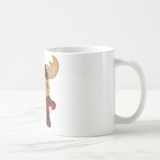 Woodland Love Moose Coffee Mug