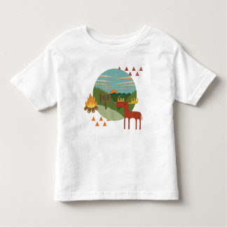 Woodland - Moose! Toddler T-Shirt