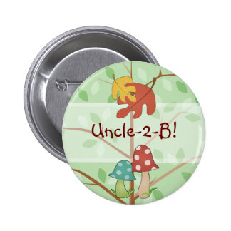 Woodland Mushrooms Button
