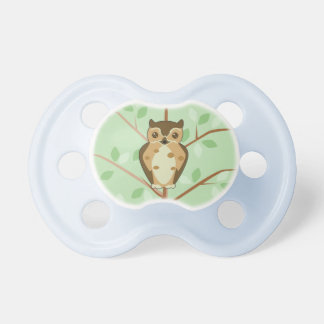 Woodland Owl Baby Pacifier